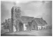 St Margaret's Church picture before 1823