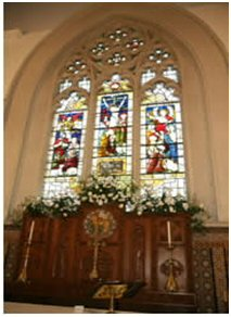 Picture of the east window of 1872